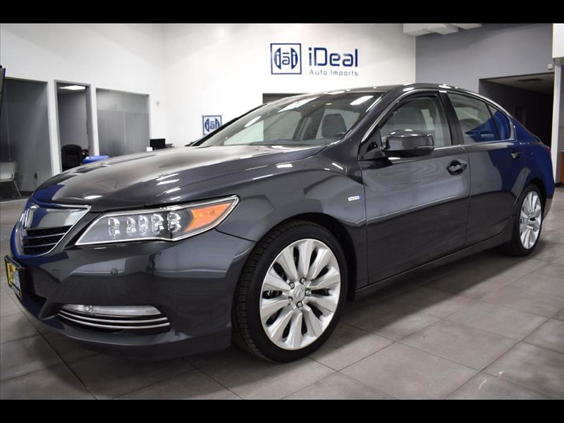 2016 Acura RLX Sport Hybrid SH-AWD w/Advance Package Sedan