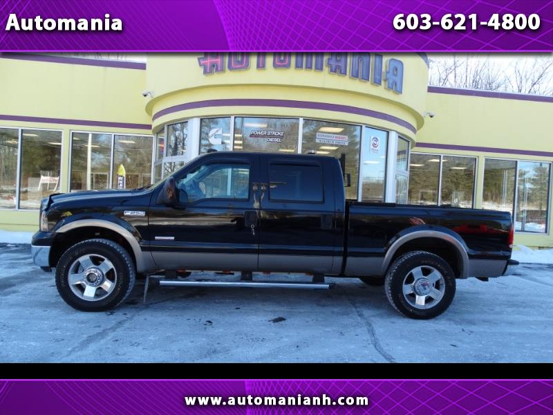 2006 Ford F-250 SD DIESEL LARIAT CREW 4WD POWERSTROKE STUDDED