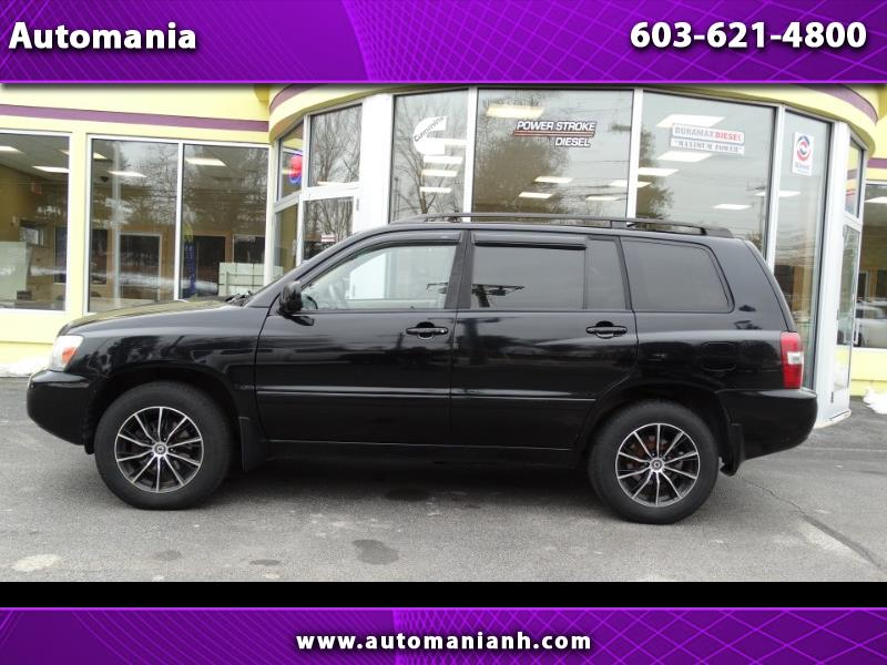2006 Toyota Highlander LIMITED 4WD 3RD ROW SEATING