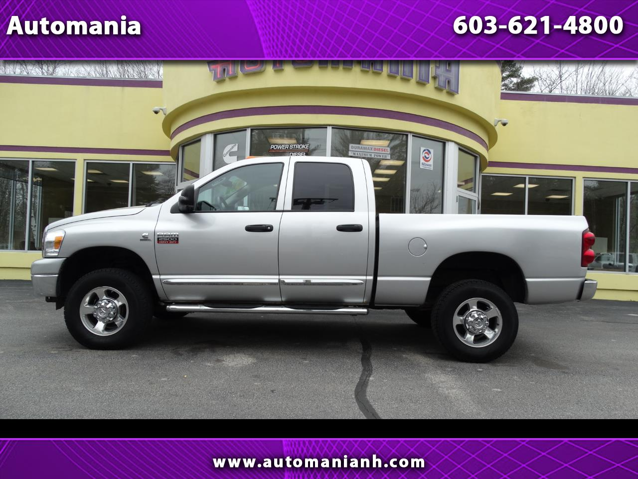 2008 Dodge Ram 2500 CUMMINS QUAD CAB SHORT BED 4WD DIESEL