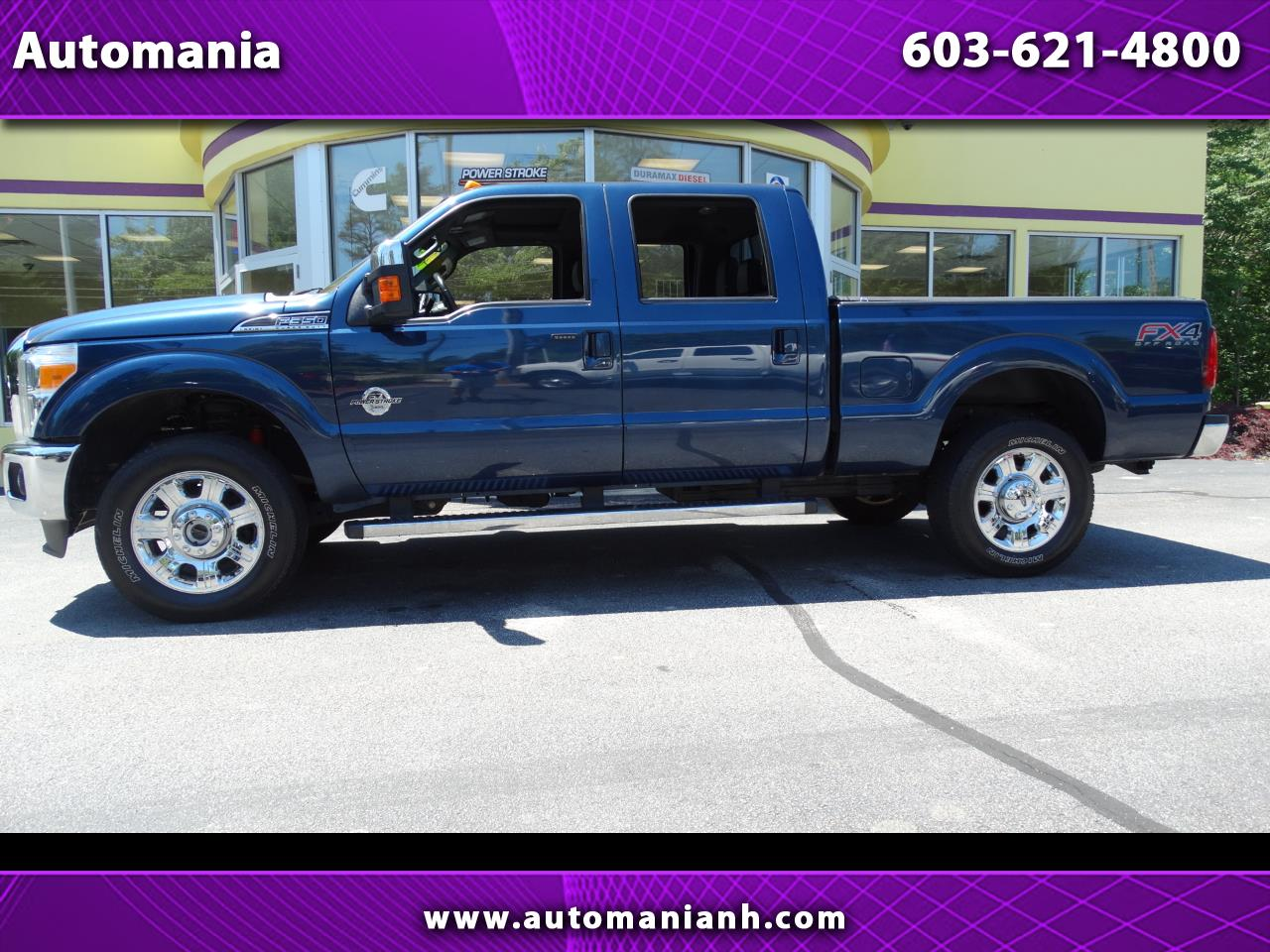 2016 Ford F-350 SD DIESEL CREW LARIAT SHORT BED 4X4 POWERSTROKE TRUCK