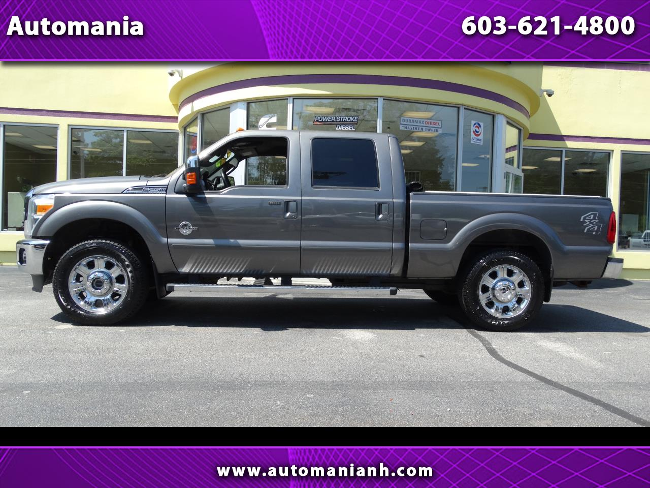 2012 Ford F-250 SD POWERSTROKE CREW CAB LARIAT DIESEL TRUCK