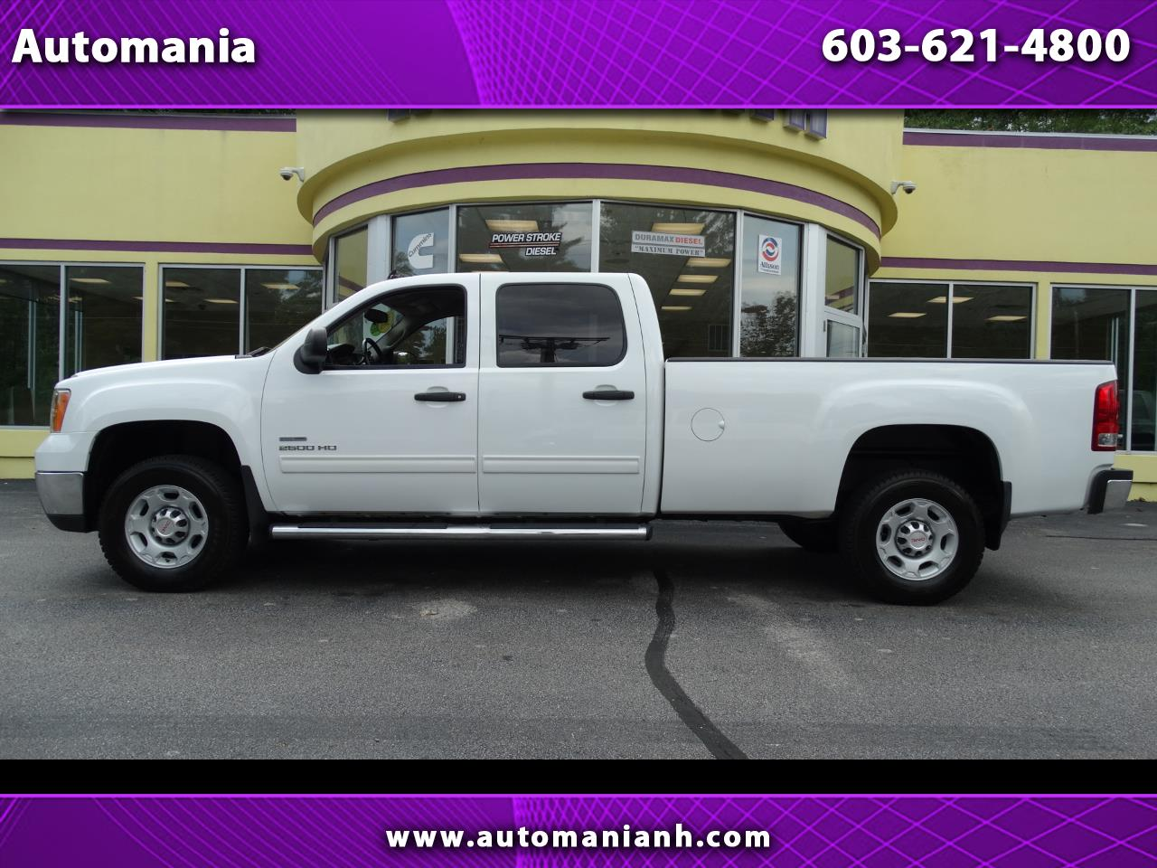 2010 GMC Sierra 2500HD DURAMAX DIESEL CREW 8FT BED