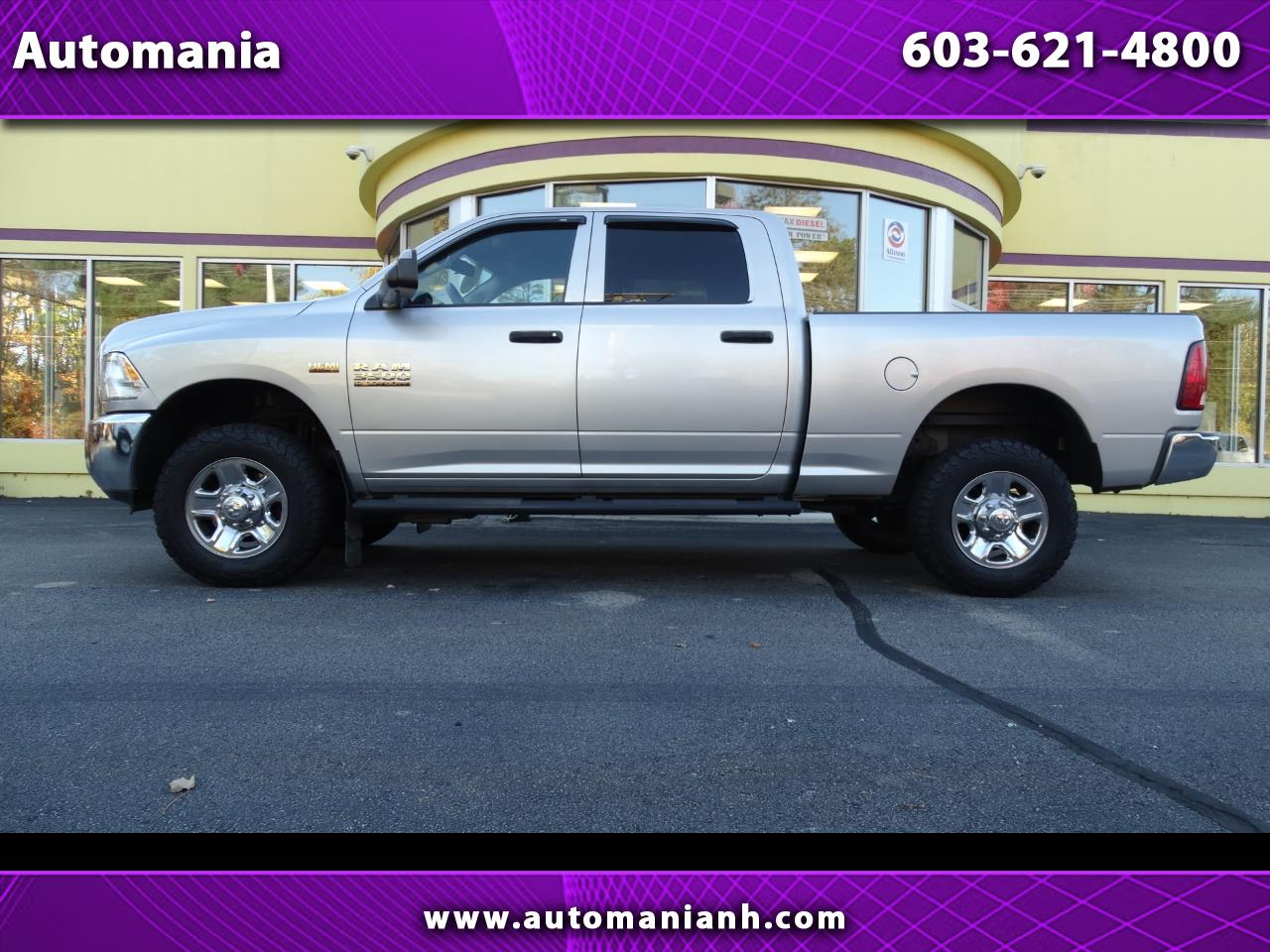 2015 RAM 3500 CREW CAB 1 TON 3500 HEMI WITH BACK UP CAMERA 4X4