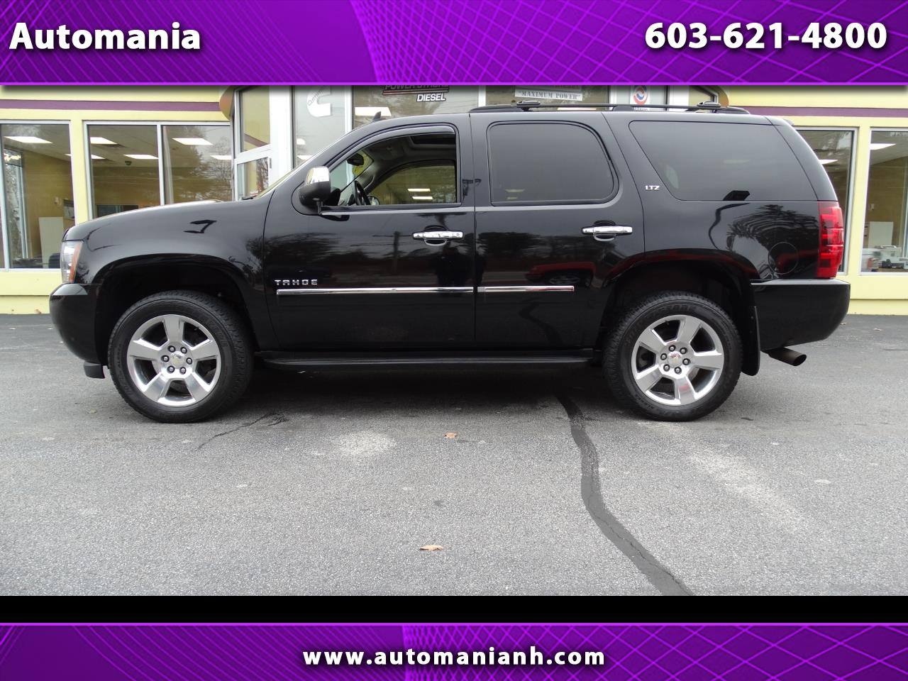 2013 Chevrolet Tahoe LTZ 4WD MOON ROOF DVD NAV REAR BUCKET SEATS