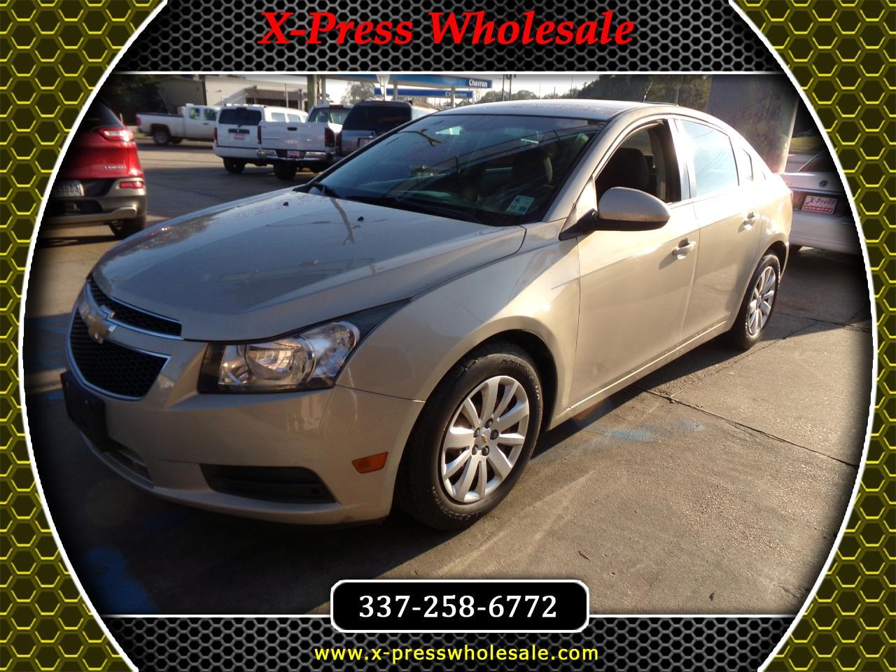 Used 2011 Chevrolet Cruze 4dr Sdn Lt W 1lt For Sale In