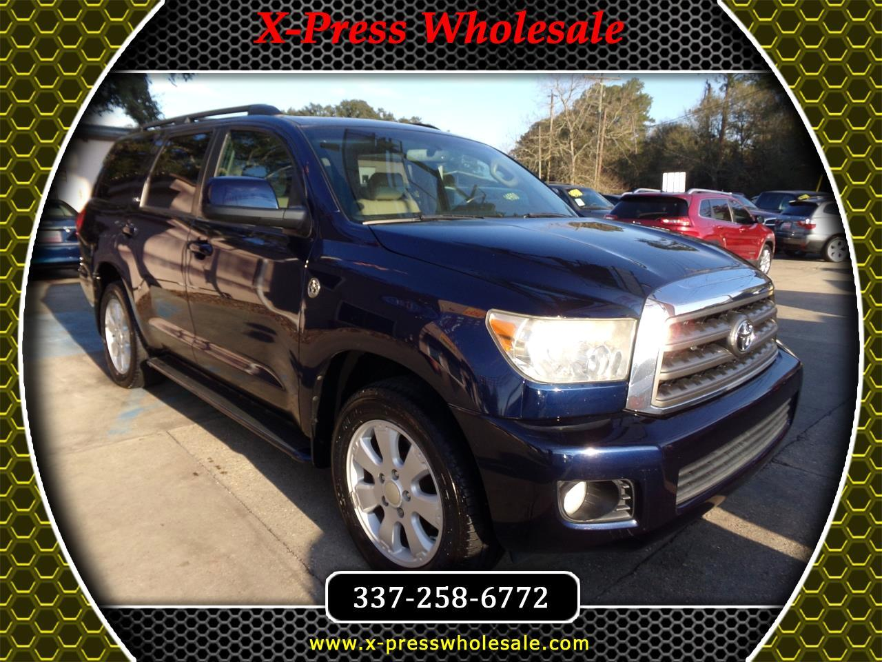 Toyota Sequoia RWD 4dr LV8 6-Spd AT SR5 (Natl) 2008