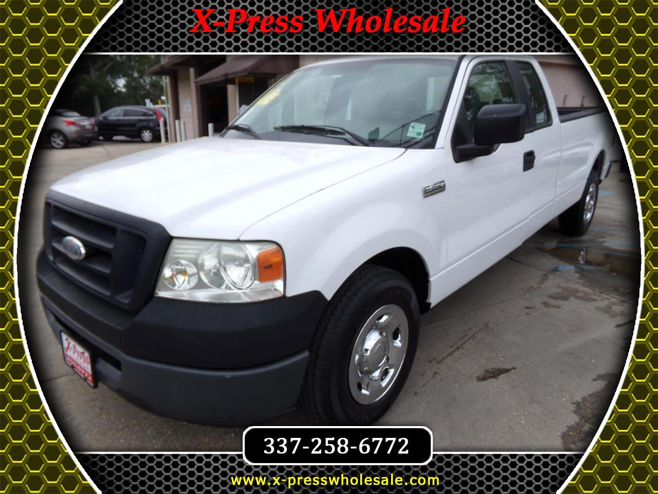 "2008 Ford F-150 2WD SuperCab 163"" XLT"
