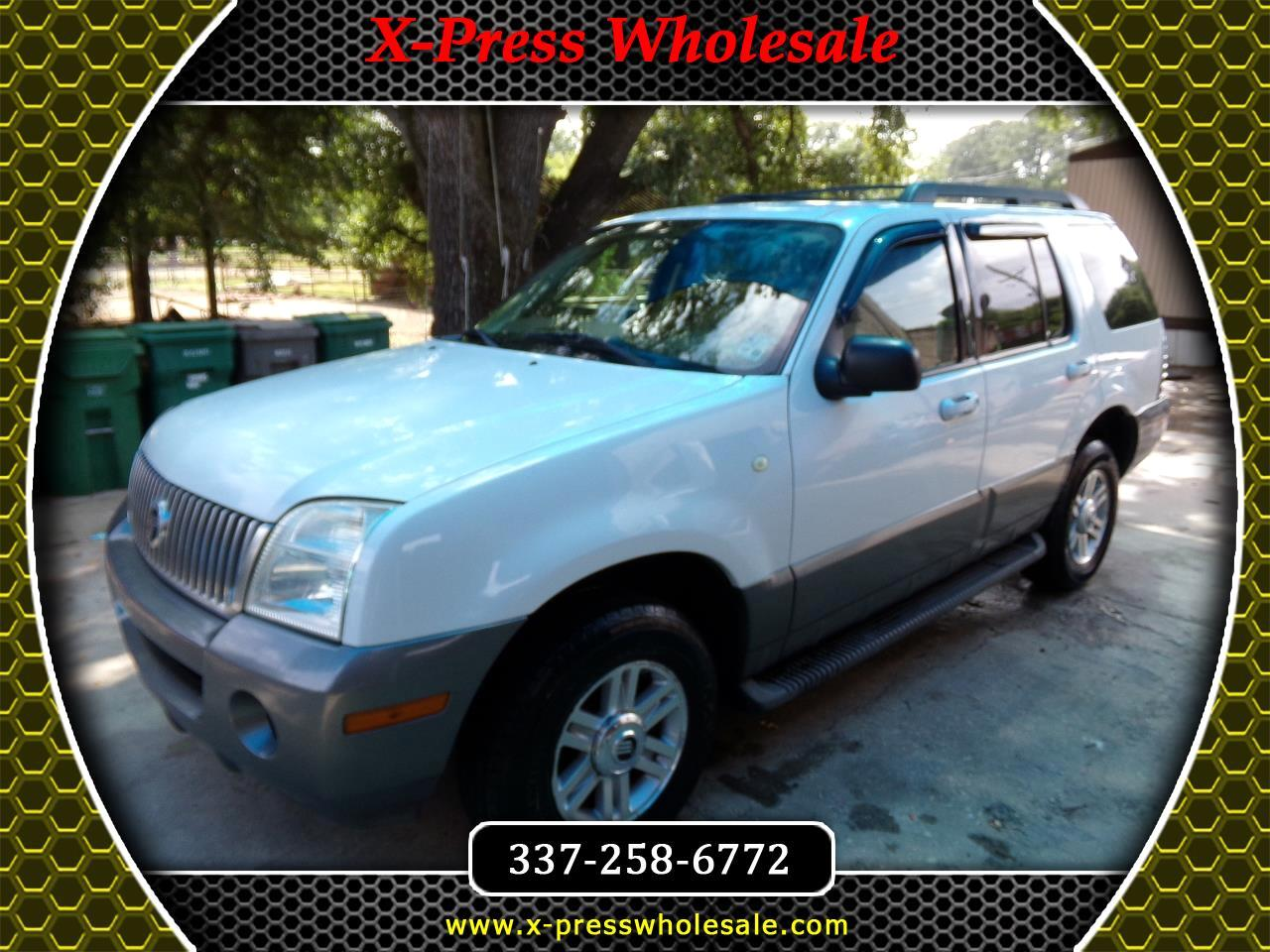 "2005 Mercury Mountaineer 4dr 114"" WB Convenience"