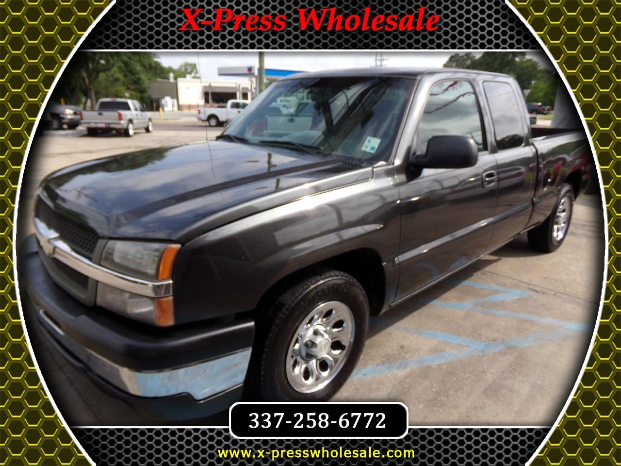 "2003 Chevrolet Silverado 1500 Ext Cab 143.5"" WB Work Truck"