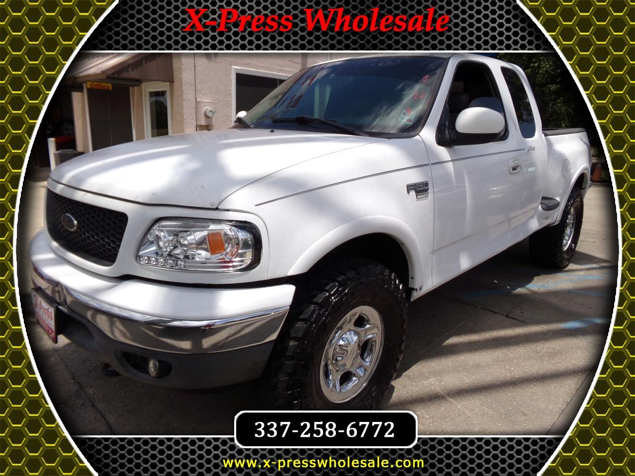 "2002 Ford F-150 Supercab Flareside 139"" Lariat 4WD"
