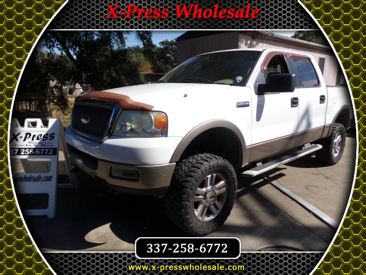 "Ford F-150 SuperCrew 139"" Lariat 4WD 2005"