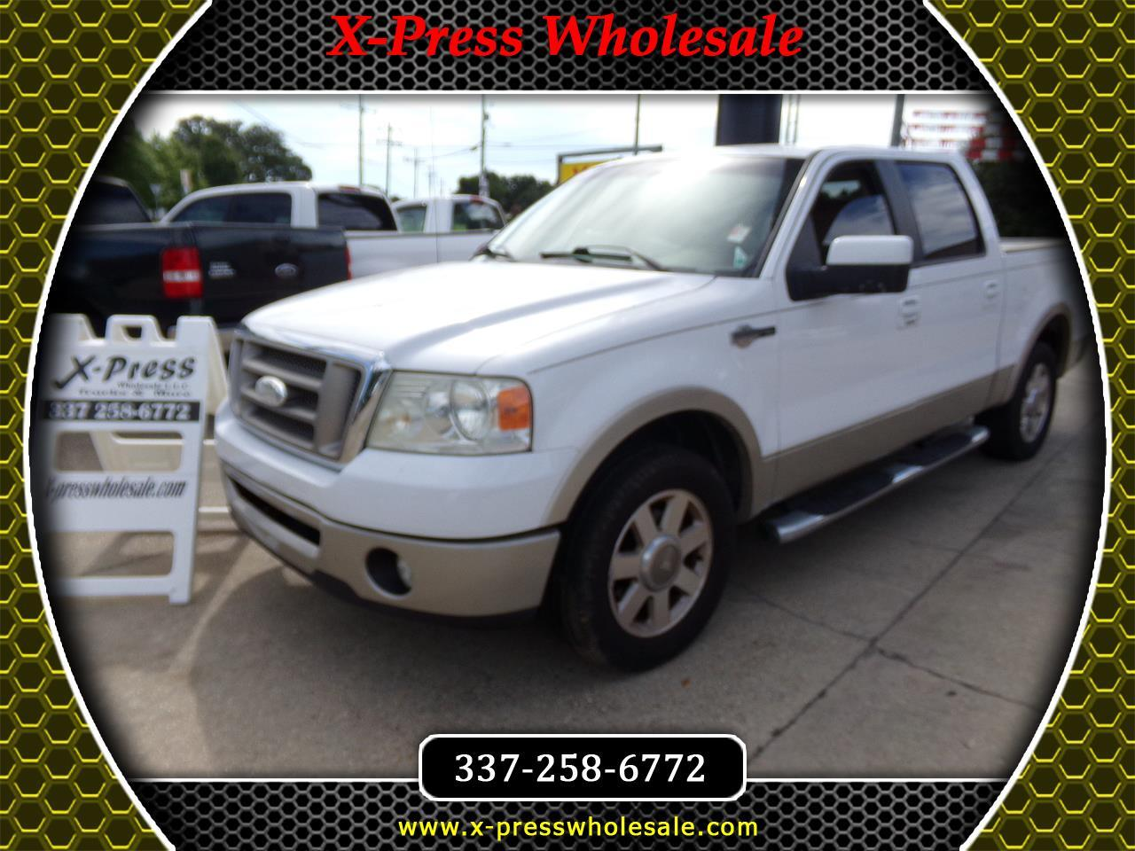 "Ford F-150 2WD SuperCrew 139"" King Ranch 2007"