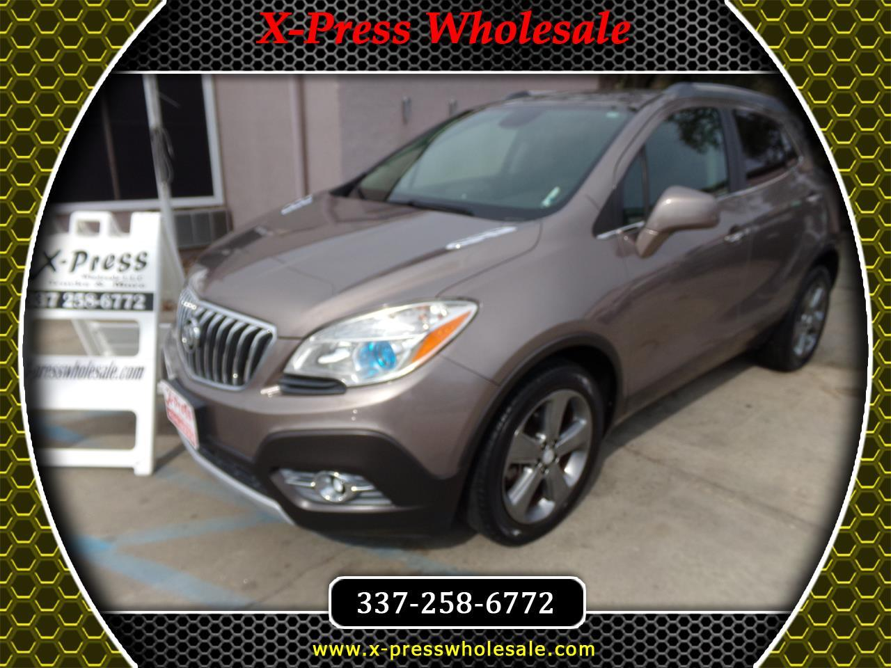 Buick Encore FWD 4dr Leather 2013