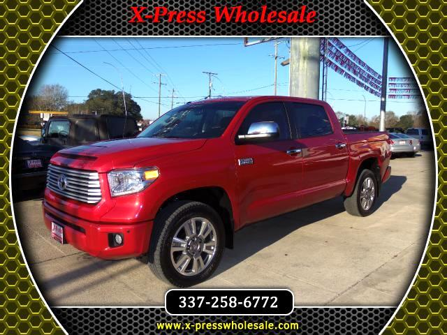 2015 Toyota Tundra CrewMax 5.7L FFV V8 6-Spd AT Platinum (Natl)