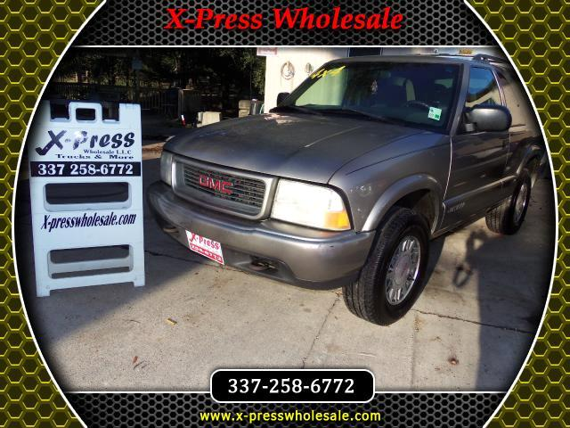2000 GMC Jimmy 2dr 4WD SLS Convenience