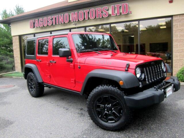 2014 Jeep Wrangler Willys Wheeler W 4x4