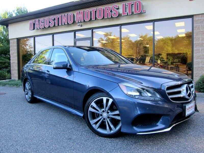 Mercedes-Benz E-Class E350 Sport 4MATIC Sedan 2015