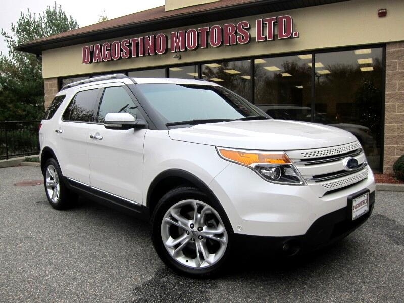 2011 Ford Explorer Limited >> Used 2011 Ford Explorer Limited 4wd For Sale In Smithfield