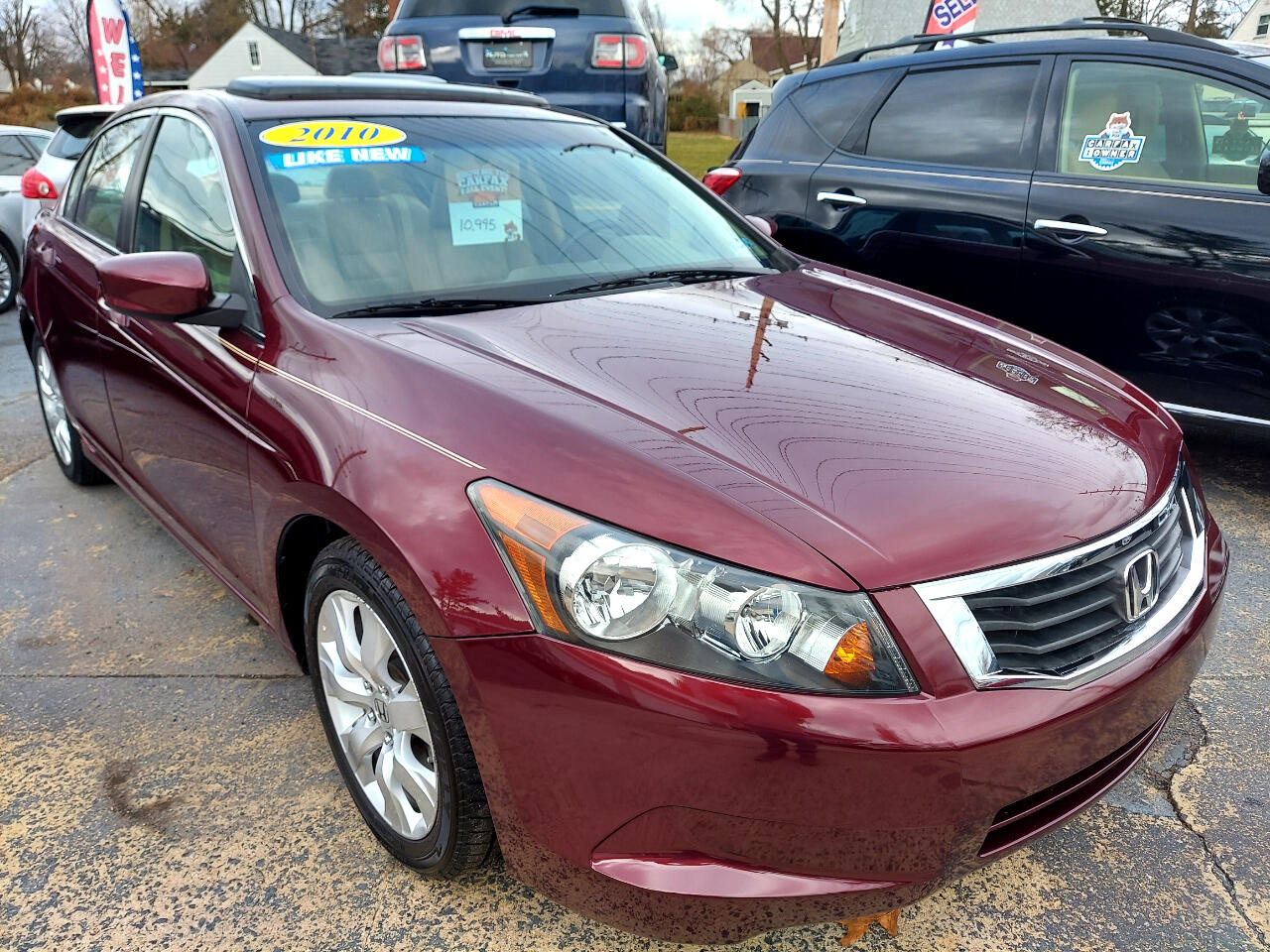 Honda Accord EX-L Sedan AT 2010