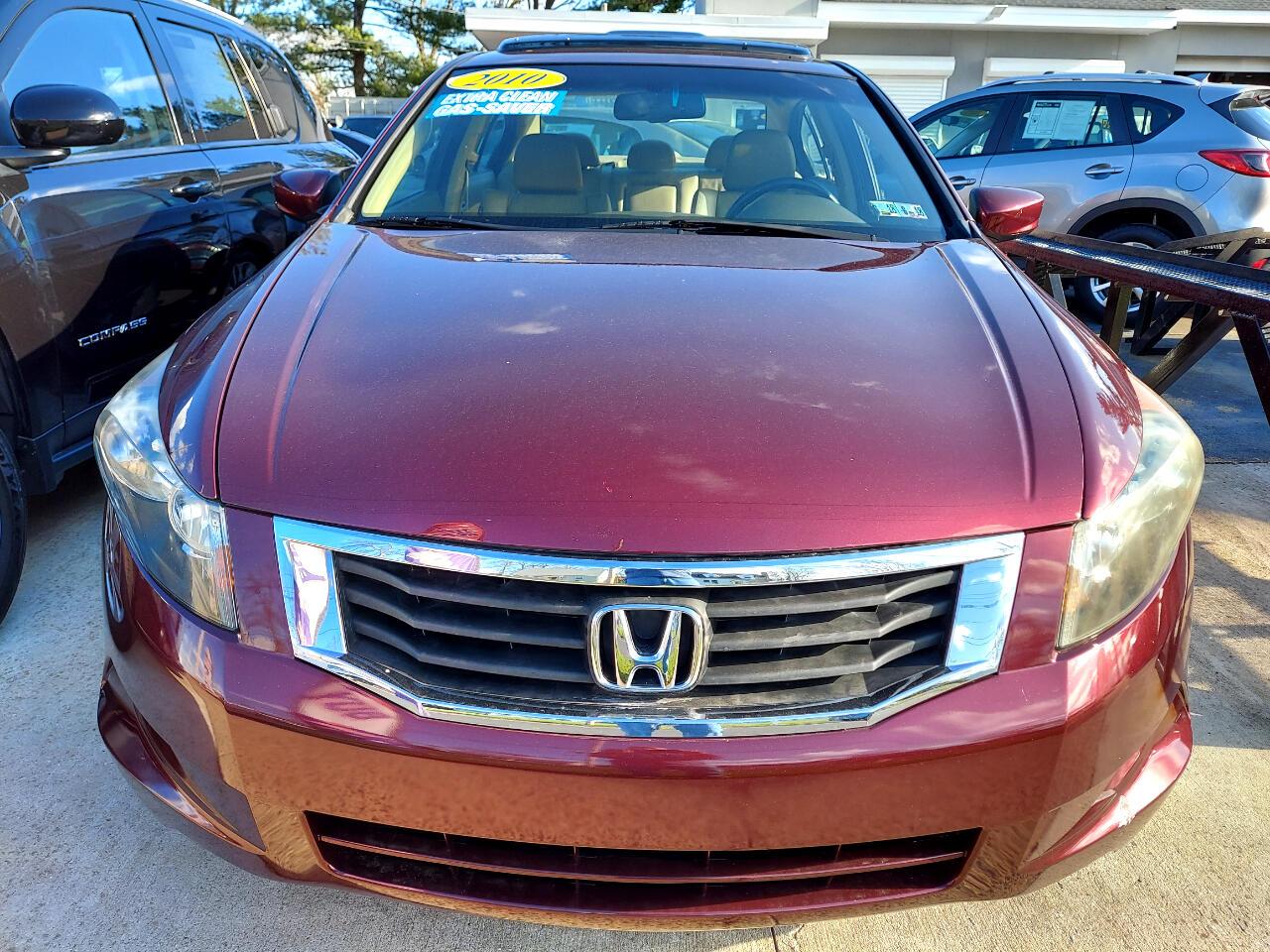 Honda Accord EX-L Sedan AT 2010