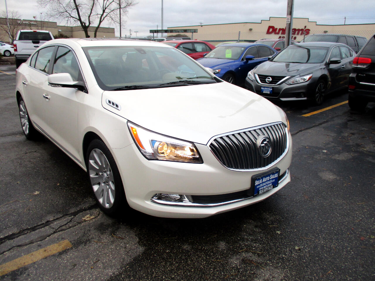 2014 Buick LaCrosse Premium Package 1, w/Leather AWD