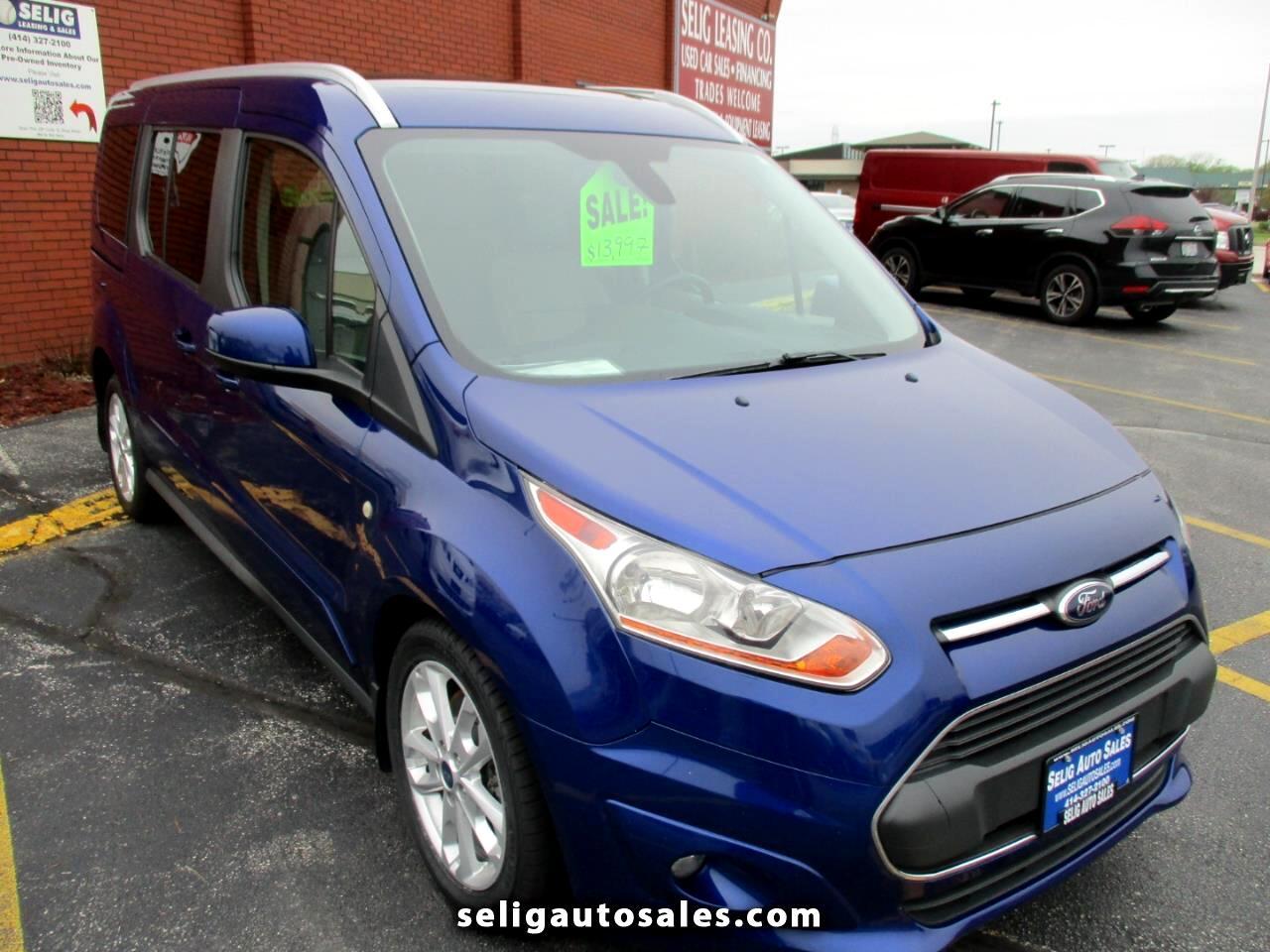 Ford Transit Connect Wagon Titanium w/Rear Liftgate LWB 2014
