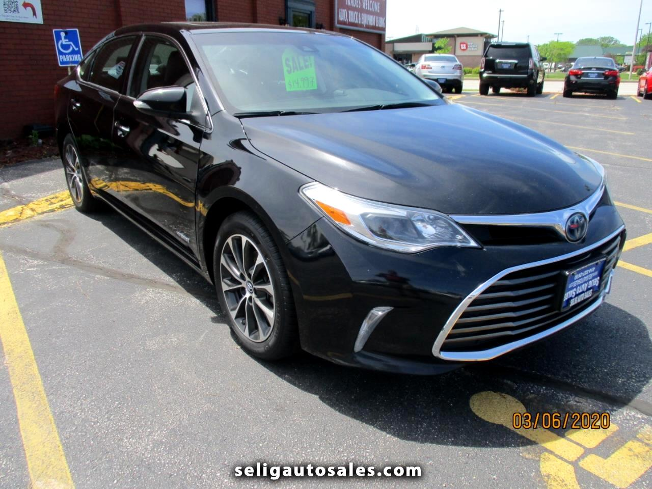 Toyota Avalon Hybrid XLE Plus 2017