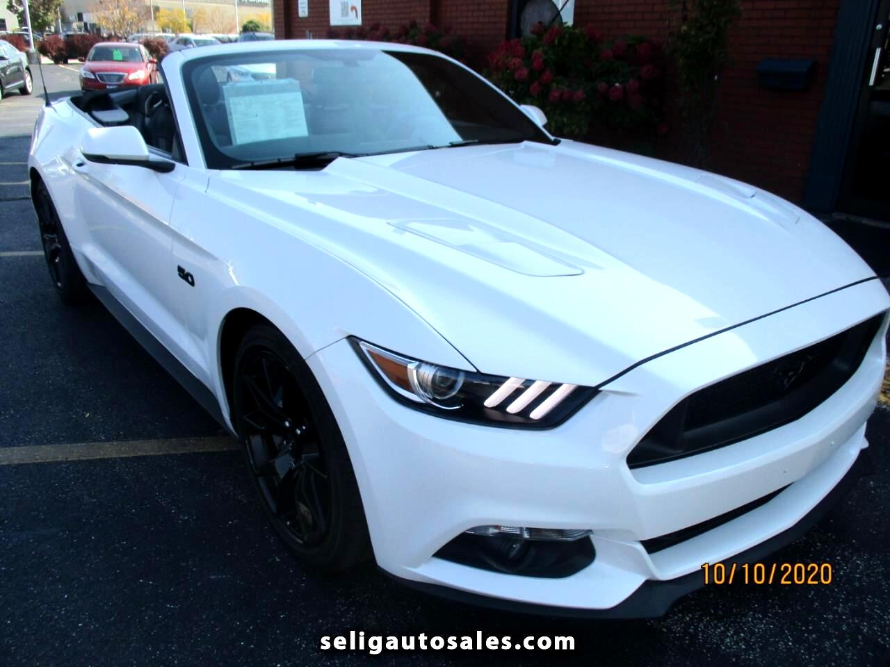 Ford Mustang 2dr Conv GT Premium 2017