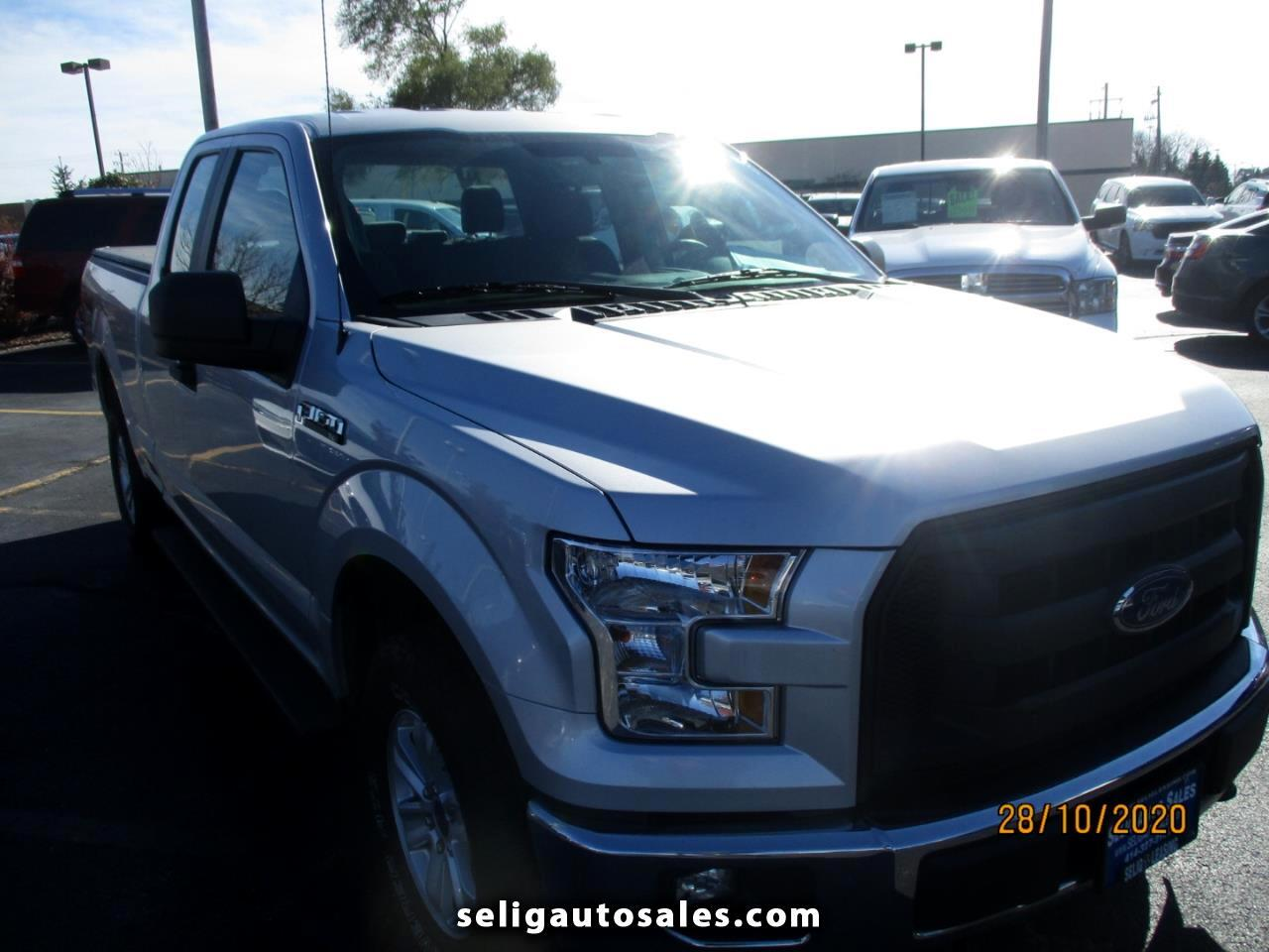 Ford F-150 XLT SuperCrew 6.5-ft Box 4WD 2017
