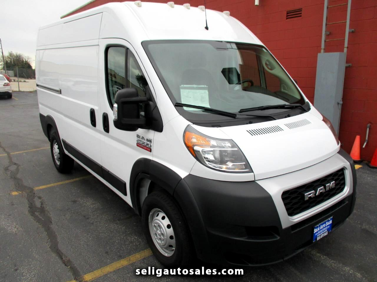 RAM Promaster 2500 High Roof 136-in. WB 2020