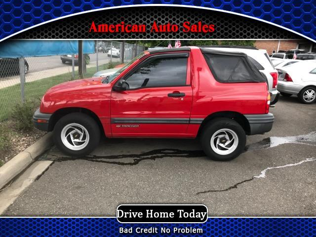 2000 Chevrolet Tracker 2-Door Convertible 4WD