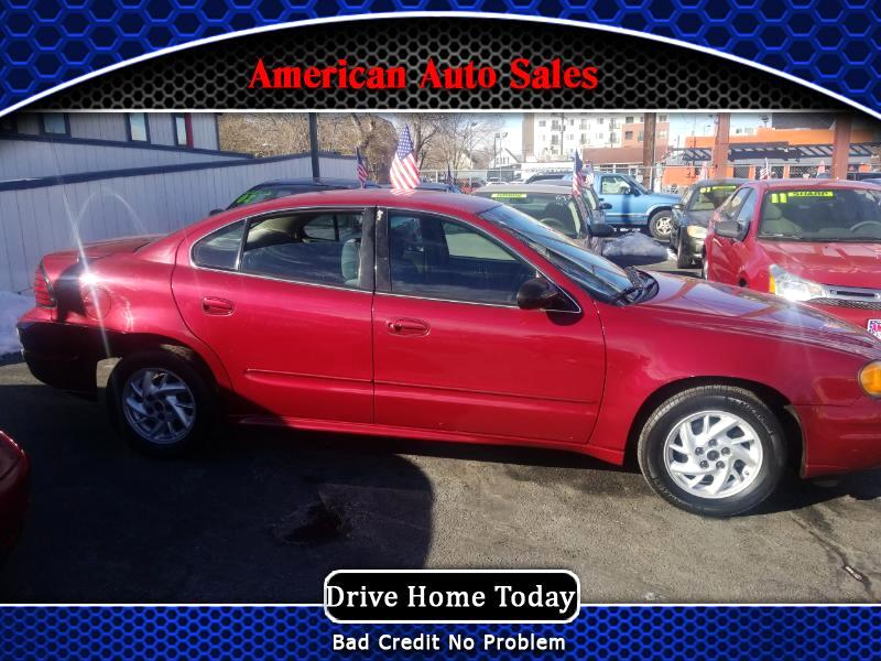 2004 Pontiac Grand Am 2dr Coupe SE