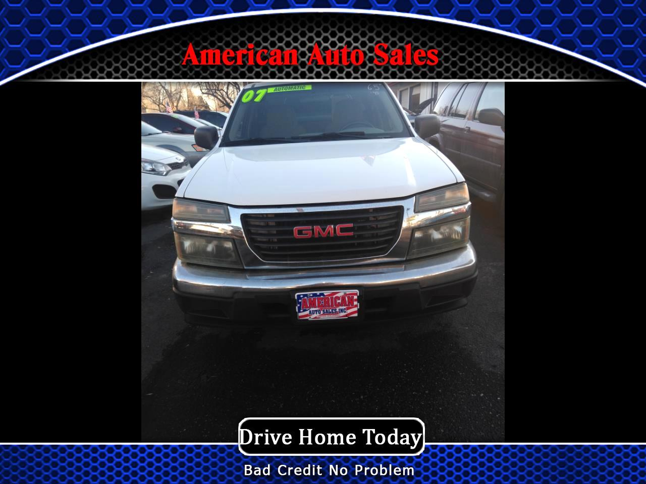 2007 GMC Canyon Work Truck Ext. Cab 2WD