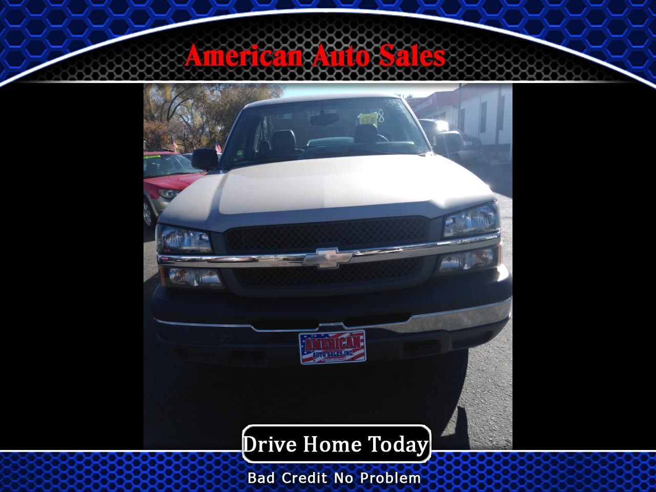 Chevrolet Silverado 1500 Work Truck Short Bed 2WD 2005