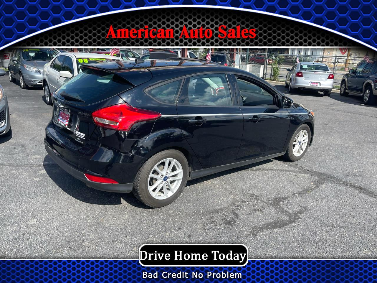 Ford FOCUS SE 2dr Cpe S 2016