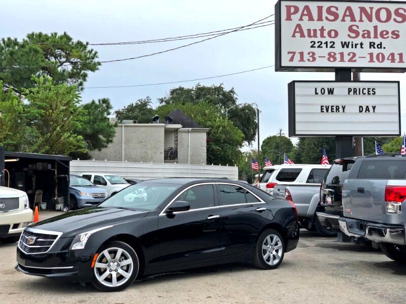 2016 Cadillac ATS 2.0L Base RWD