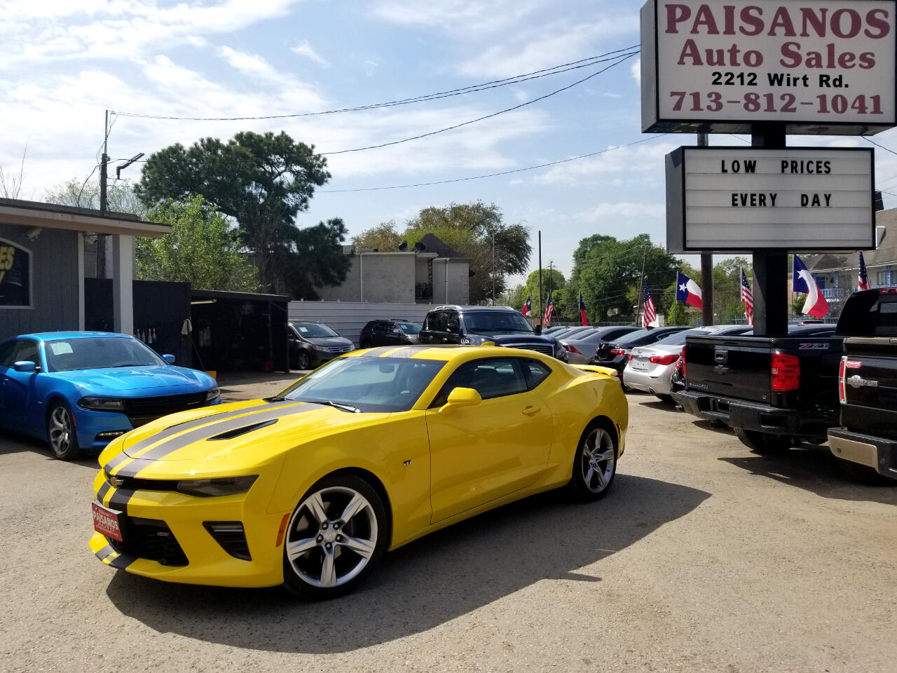 Used 2018 Chevrolet Camaro 1SS Coupe 8A for Sale in ...