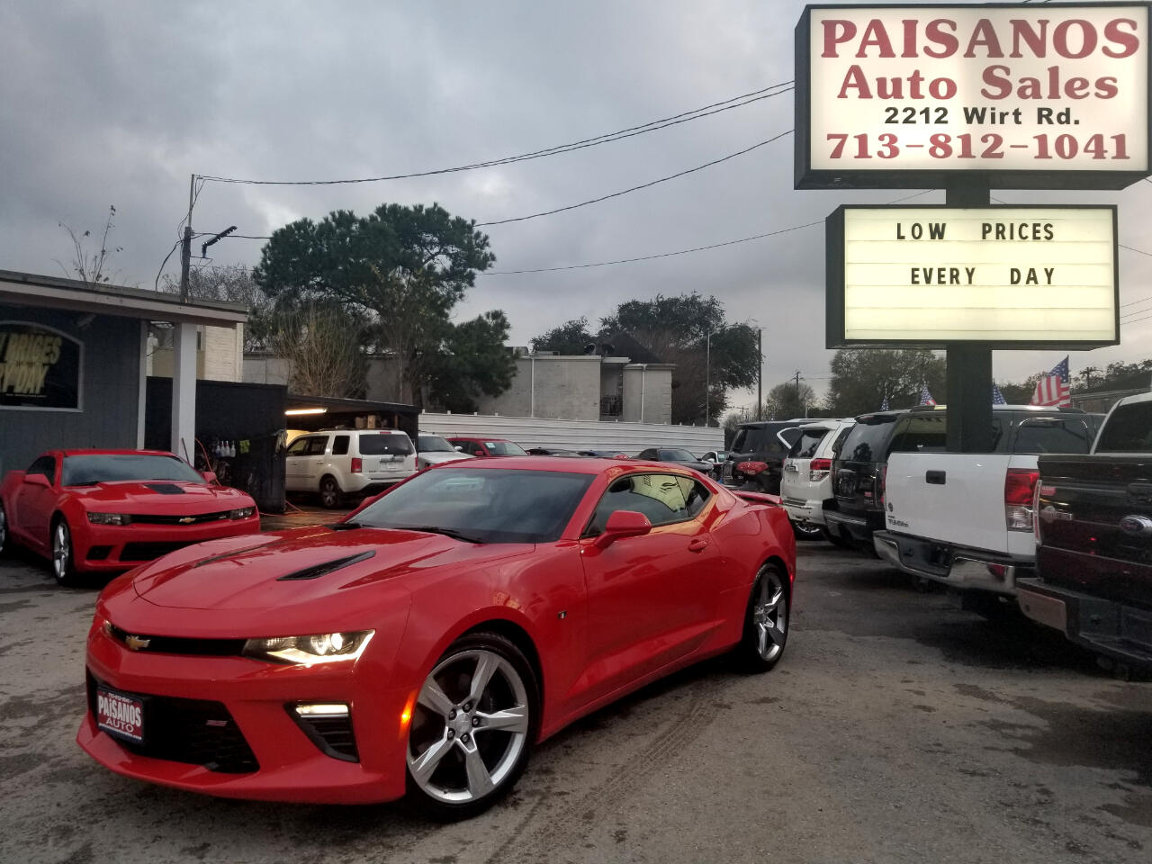 Used 2018 Chevrolet Camaro 1SS Coupe 8A for Sale in Houston