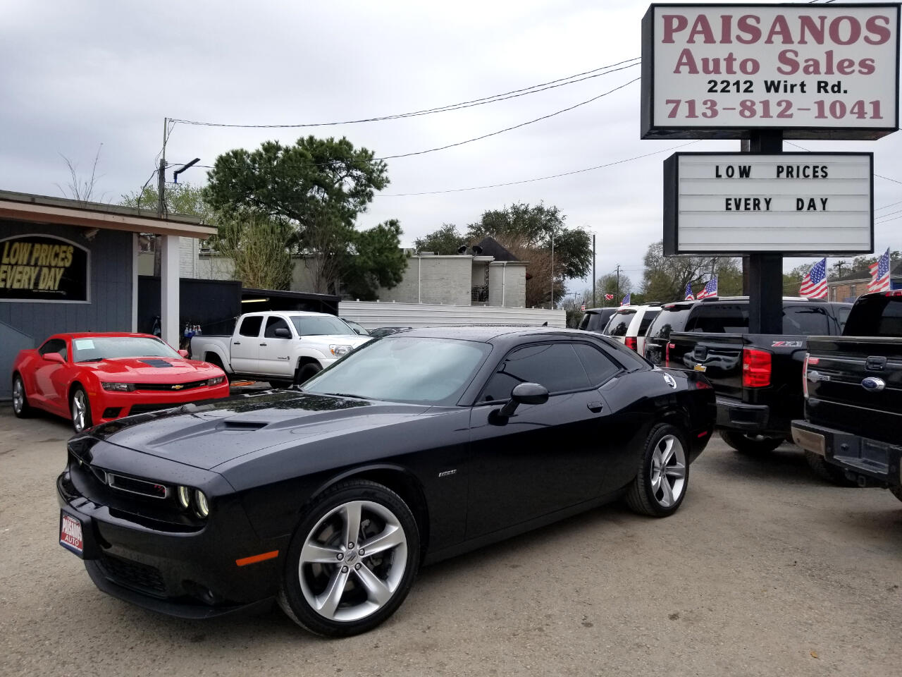 Used 2017 Dodge Challenger R/T Plus for Sale in Houston TX ...