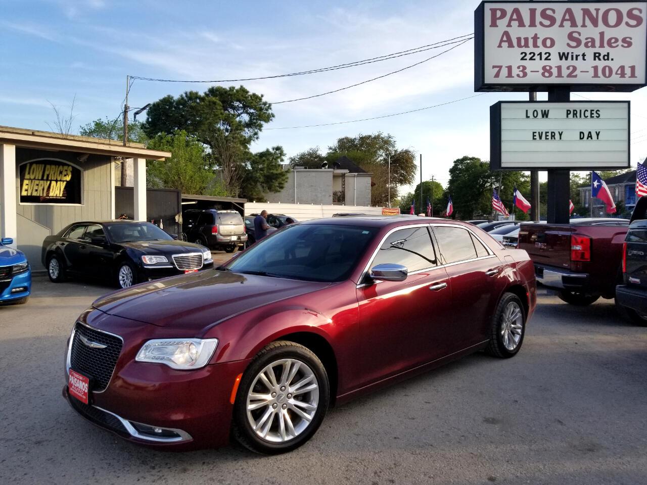 Paisanos Auto Sales >> Used 2017 Chrysler 300 C Rwd For Sale In Houston Tx 77055 Paisanos Auto