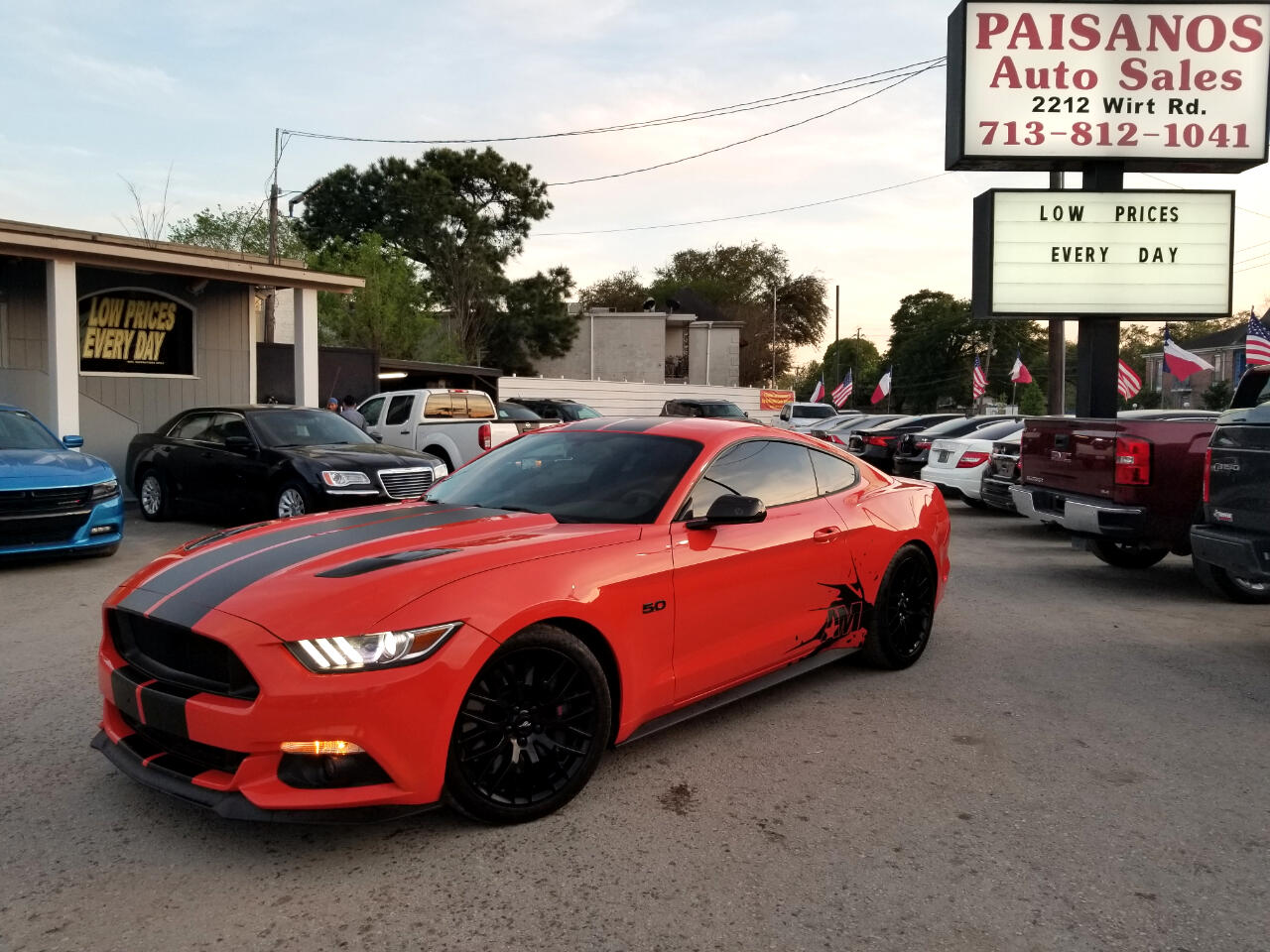 Paisanos Auto Sales >> Used 2015 Ford Mustang GT Coupe for Sale in Houston TX 77055 Paisanos Auto