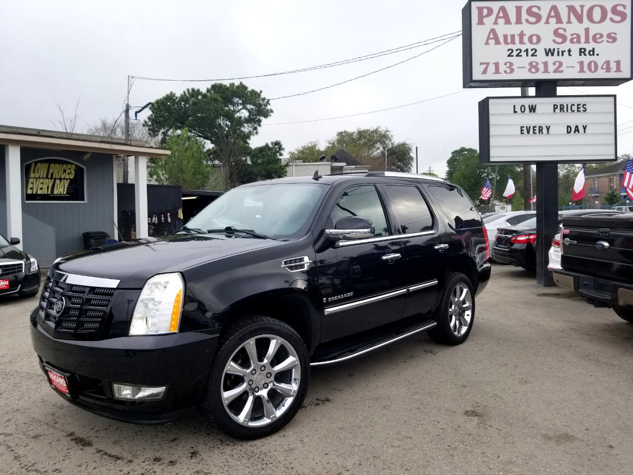 Paisanos Auto Sales >> Used 2014 Cadillac Escalade Luxury AWD for Sale in Houston TX 77055 Paisanos Auto