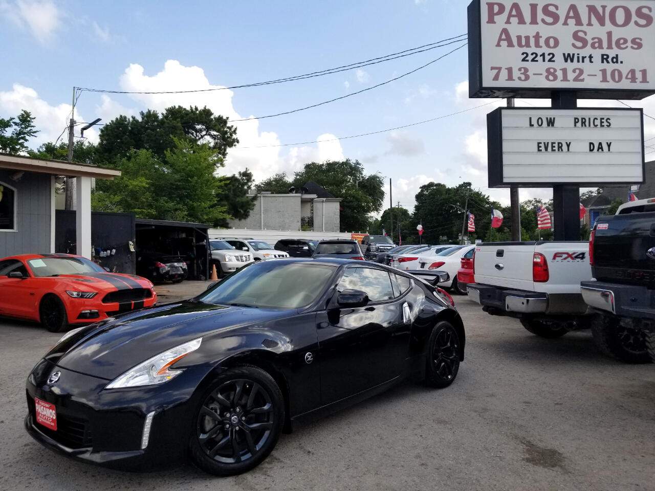 Nissan Z 370Z Coupe Touring 6MT 2015