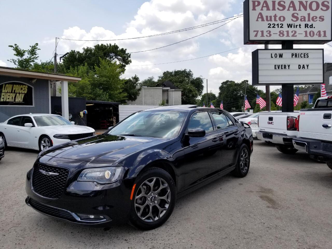 2017 Chrysler 300 S V6 AWD