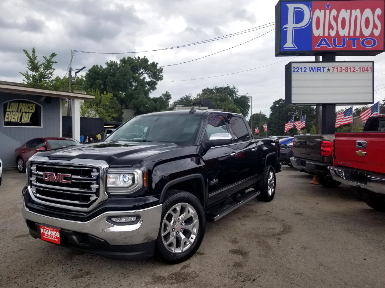 2017 GMC Sierra 1500 SLT Crew Cab Long Box 2WD
