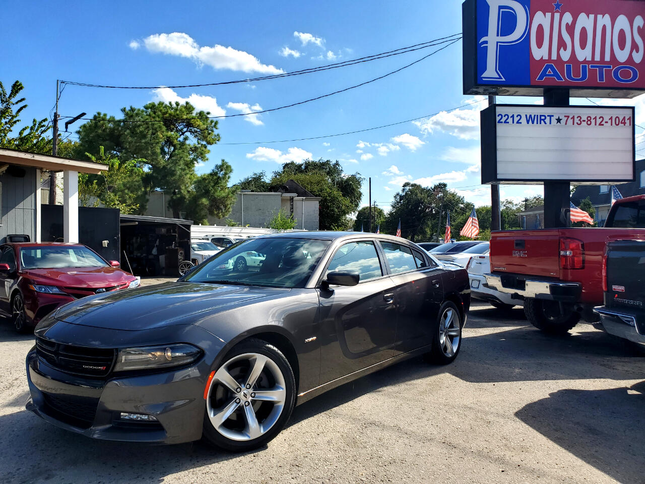 2018 Dodge Charger 4dr Sdn R/T RWD