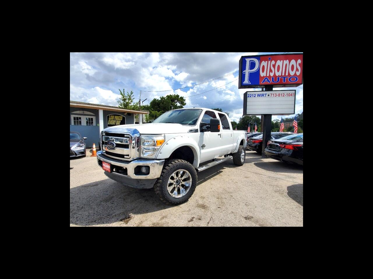 Ford F-250 SD Lariat Crew Cab Short Bed 4WD 2012