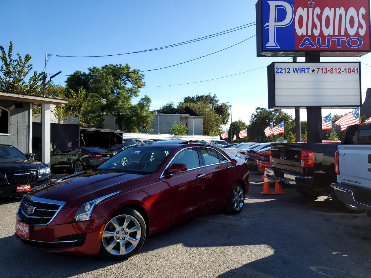 Cadillac ATS 2.5L Luxury RWD 2016
