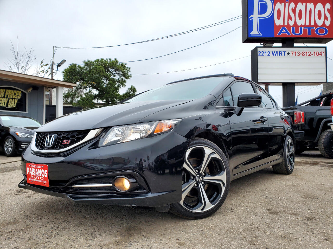 Honda Civic Si Sedan 6-Speed MT 2015
